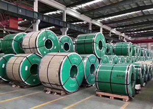 Edelstahlspule mit ASTM JIS DIN GB